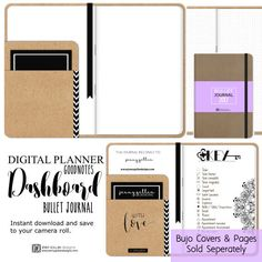 Digital Planner Dashboard for iPad GoodNotes by JennyGollanStudio