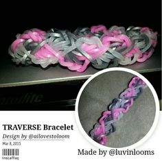 Traverse Bracelet. Visit Facebook Luvinlooms Fancy Bracelets and Accessories Or Luvinlooms@gmail.com to purchase!