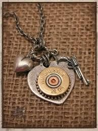 Central Guns and Ammo carries Sure Shot jewelry - made in the US from reclaimed shotgun shells and bullets