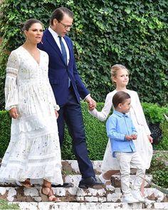 Princess Victoria Of Sweden, Princess Estelle, Crown Princess Victoria, Swedish Royalty, Royal Beauty, Royal Clothing, Nice Dresses, Summer Dresses, Summer Chic