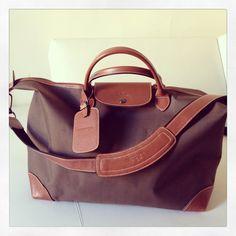 My most favorite Longchamp travel bag