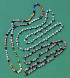 Potato Bead Necklace Craft