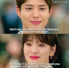 Quotes Drama Korea, Korean Drama Quotes, Romance Quotes, Movie Quotes, Drama Words, Park Go Bum, Cute Wallpapers Quotes, The Encounter, Song Hye Kyo