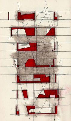 Architectural Sketch   student sketch