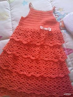 ganchillo y tricot...labores anamary: tutorial..vestido crochet