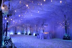 Winter Wonderland Wedding - Meher Sarid Oooh to have that kind of a budget. . . Or lack thereof. . .