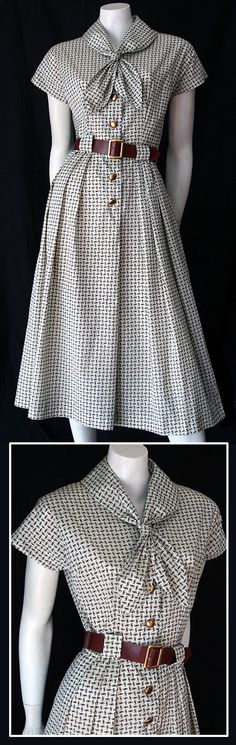 love the pattern :) 50s Coquette dress http://www.vintageclothing.com.au/50sto80sp11.htm#