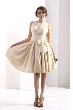 champagne taffeta bridesmaid dresses
