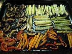 Najlepšie zeleninové prílohy - Receptik.sk Cuisines Design, C'est Bon, Herbalife, Asparagus, Green Beans, Carrots, Ale, Favorite Recipes, Recipes