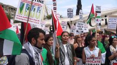 Pro Palestinian march held in Edinburgh