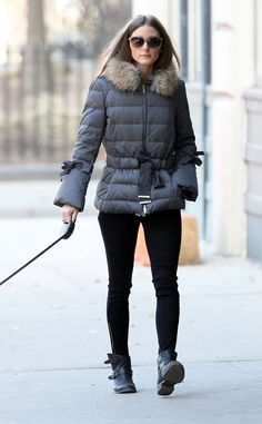 THE OLIVIA PALERMO LOOKBOOK: Olivia Palermo Walking Mr.Butler
