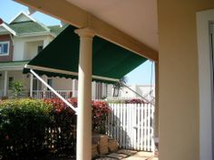 Drop Down Awnings