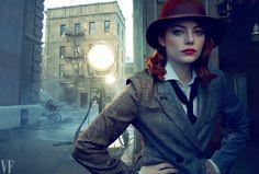 "Emma Stone – Vanity Fair 'Hollywood Portfolio"" Issue February 2017 – photo by Annie Leibovitz"