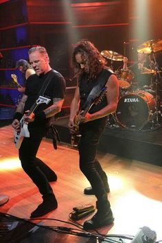 James & Kirk, Metallica