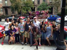 Today, August 26th, 2014, #fishercollege Student Leaders were treated to Free Good Humor Ice Cream. Thanks @GoodHumor #JoySquad for the free ice cream!