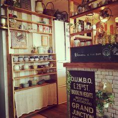 好きなようにごちゃごちゃDIY/DIY/DIY食器棚/陶器が好き/ポーランド食器…などのインテリア実例 - 2014-10-16 07:01:25 | RoomClip(ルームクリップ)