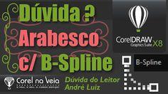 CorelDRAW X8  - Arabesco com B-Spline - Dúvida do leitor #5