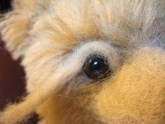 Desertmountainbears Notes: Needle Felted Face Tutorial