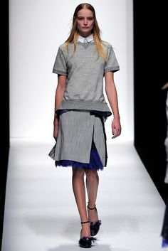 Sacai Spring 2013 Ready-to-Wear Fashion Show - Maud Welzen