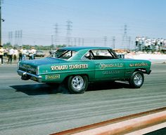 Vintage Drag Racing - Emerald Chevrolet from Beverly Hills, CA
