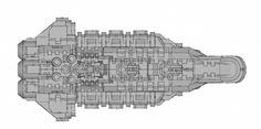 #frigate for #vanguardminiatures #ship #bfg #battlefleetgothic #spaceship #sketchup #3dmodelling #3dprinting