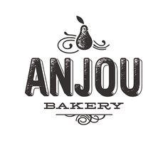 Anjou Bakery / Simon Walker #logo #identity #design
