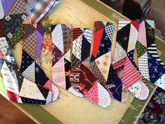 Making into wee xmas stockings.