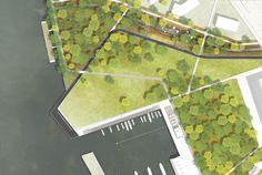 Hafenbecken / Park am Wasser 1:500