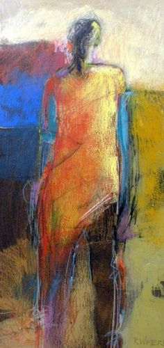 Multimedia abstract figure by Rod Wimer