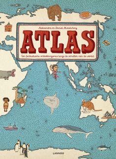 Alexanda Machowiak, Daniel Mizilinksi, e.a. Atlas. Een fantastische ontdekkingsreis langs de schatten van de wereld. Plaats: O/AARD.