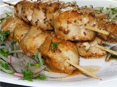 Chicken Shaslik Шашлык куриный: рецепты
