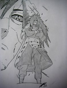 Madara Uchiha drawing by TheChiefAssassin by TheChiefAssassin on DeviantArt Naruto Shippuden Sasuke, Anime Naruto, Naruto Madara, Sasuke Sarutobi, Shikamaru, Naruto Drawings, Naruto Sketch Drawing, Anime Sketch, Naruto Wallpaper