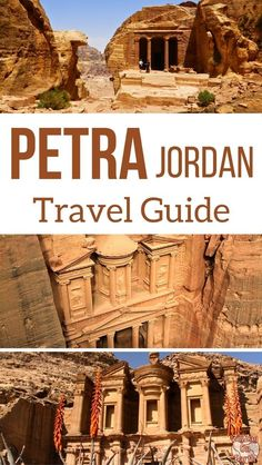 Petra Jordan Travel Guide - Photos, practical tip and map to plan your visit to Petra, the magnificent Unesco world heritage site carved in the rock #Jordantravel