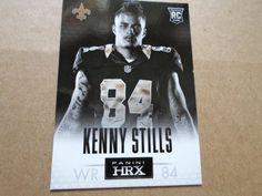 2013 PANINI HRX CODE CARD RC KENNY STILLS #19 #NewOrleansSaints