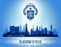 Glasgow is Blue Rangers Football, Rangers Fc, Football Art, Orange Order, Glasgow Scotland, Football Wallpaper, Football Pictures, Joker And Harley Quinn, One Team