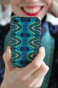 Amy Butler charms again--here is a skin for your iphone. I may have to acquire one of these.
