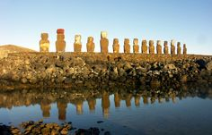 Private Tour On the moai road - Extended, Hanga Roa #Chile - LocalGuiding.com Easter Island, Seattle Skyline, Chile, Traveling, Tours, Viajes, Chili, Trips, Travel