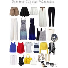 Summer Capsule Wardrobe by lauren-elizabeth-atterbery on Polyvore featuring polyvore, fashion, style, Matthew Williamson, maurices, Bouchra Jarrar, Orla Kiely, Rebecca Taylor, rag & bone, Twist & Tango, Hanro, Wallis, STELLA McCARTNEY, Dolce&Gabbana, Armani Collezioni, Calypso St. Barth, Doublju, Abercrombie & Fitch, Kate Spade, Ray-Ban and Evelyn K