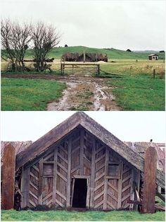 Miringa Te Kakara cruciform house