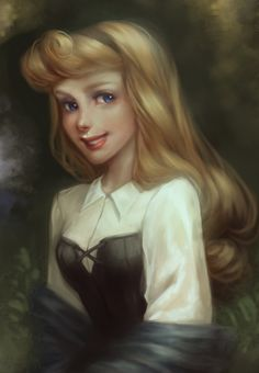 Semi realism example. Has a slight realistic look as well as capturing what makes Disney's art style noticable