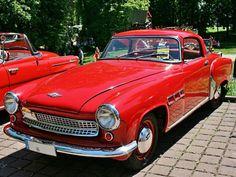 Wartburg 313 Sport Coupe Classic Sports Cars, Classic Cars, Vintage Racing, Vintage Cars, East German Car, Rda, Engin, Car Brands, Car Car