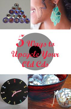 Do you love collecting cds before? Don't throw them out just yet coz you can do a lot of creative things out of them. See tutorials ----> http://www.discountqueens.com/5-ways-to-upcycle-your-old-cds/