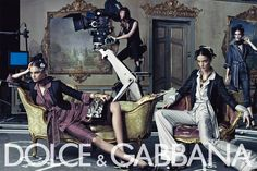 Dolce & Gabbana   Season: Spring 2009  Photographer: Steven Klein