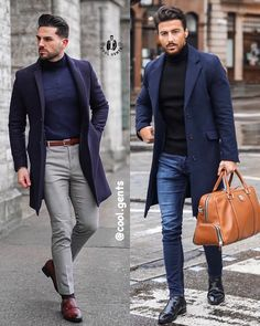 """Cool Gents on Instagram: """"🔥outfits! Left or right? Leave your thoughts on the looks below👇👇. . . . . . . . . . #clothingformens #streetfashion #menfashions…"""" Formal Outfits, Casual Outfits, Smart Casual Men, Instagram Outfits, Men's Fashion, Street Style, Blazer, Thoughts, Clothing"""
