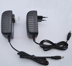 1PCS 5V3A AC 100V-240V Converter Adapter DC 5V 3A 3000mA Power Supply EU or US Plug  5.5mm x 2.1-2.5mm For Strip LED TV Box MXQ