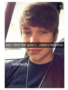 Imagine Austin snap-chatting you this OMG<3