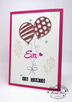 Stampin Utopia Bestel Stampin' Up! Hier; balloon adventures, birthday card