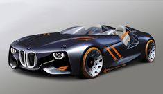 BMW 328 Hommage Concept, 2011 - Design Sketch