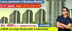 Morpheus Bluebell noida extension is a dream of providing high standards of living environment has blossomed into a reality with more than 6 years of experience MORPHEUS GROUP. Built on foundation of strong linage & an established reputation, Morpheus Bluebell noida extension has always been embraced with comprehensive solutions for eminent & quality living. Morpheus Bluebell noida extension is synonym with lavish lifestyle. The Morpheus Bluebell noida extension ...