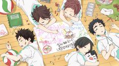 aobajousai, kids, sleeping